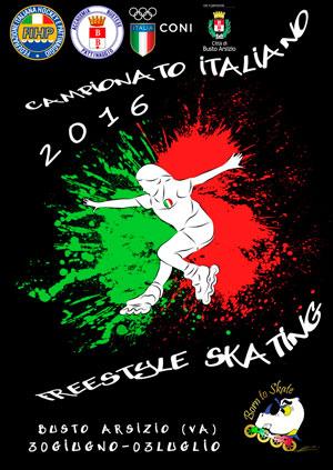 Successo tricolore per l'Astro Roller Skating