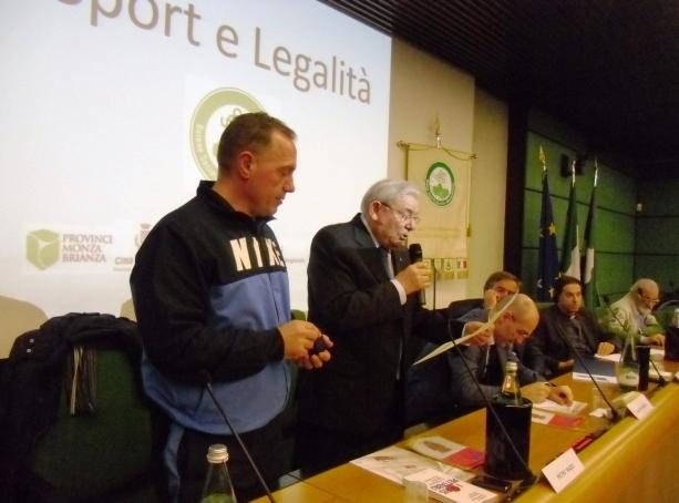 Conferenza SPORT e LEGALITA', lo sport come educazione e integrazione sociale.