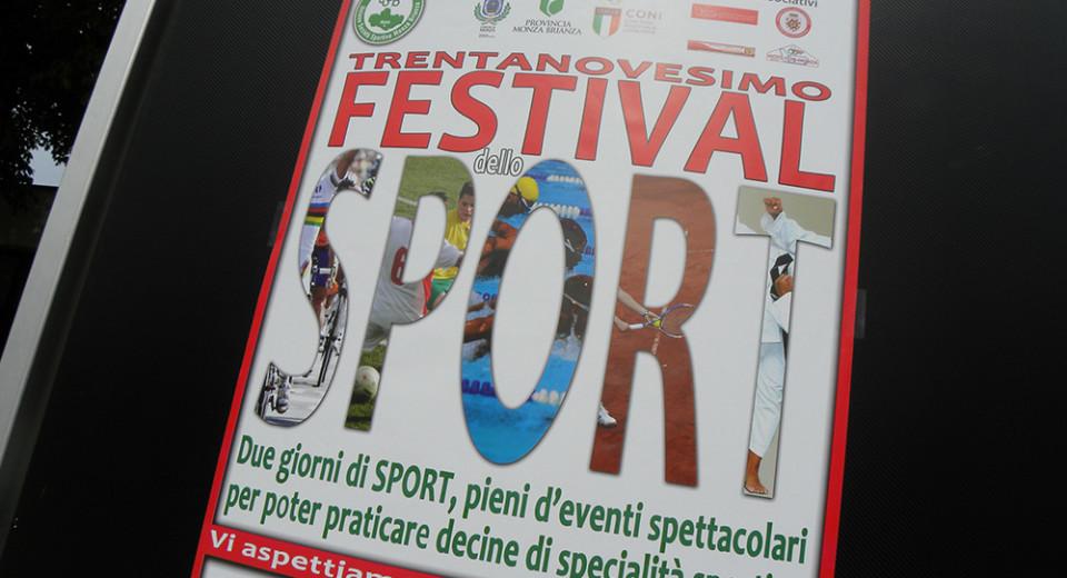 La pioggia non ha smorzato la vitalità del Festival dello Sport
