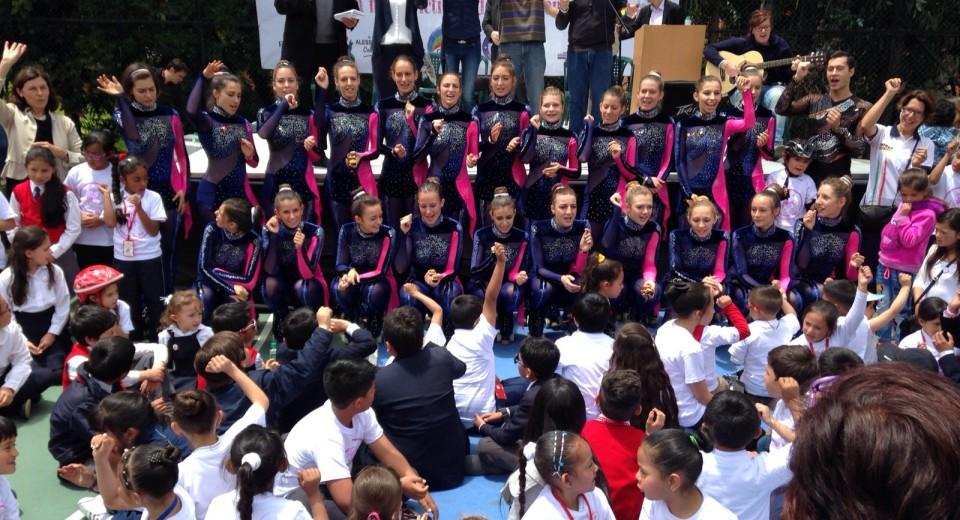 Da Monza in Colombia valori oltre lo Sport