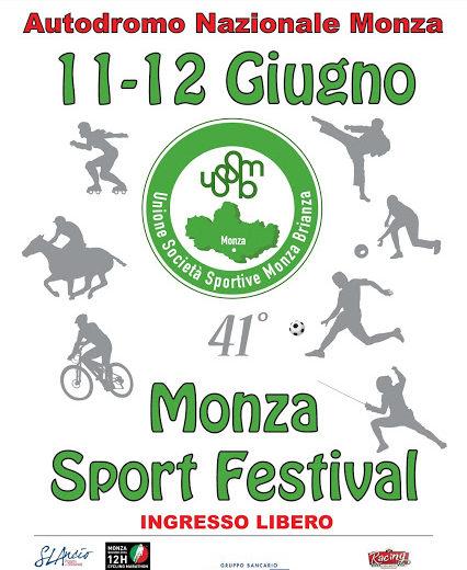 41° Monza Sport Festival, qualche anticipazione