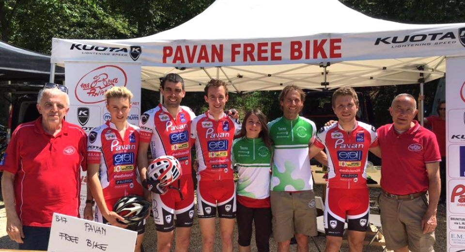 Successo del PAVAN FREE BIKE  ai Regionali
