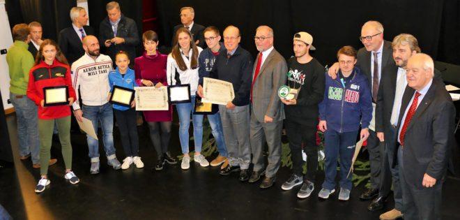 Campioni e giovani promesse martedì sera al Binario 7 per la consegna dei tradizionali premi dell'U.S.S.MB