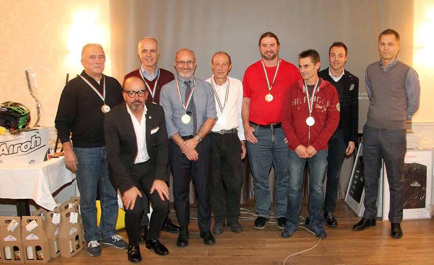 Premiazioni e auguri nella cena di fine anno del Moto Club Monza