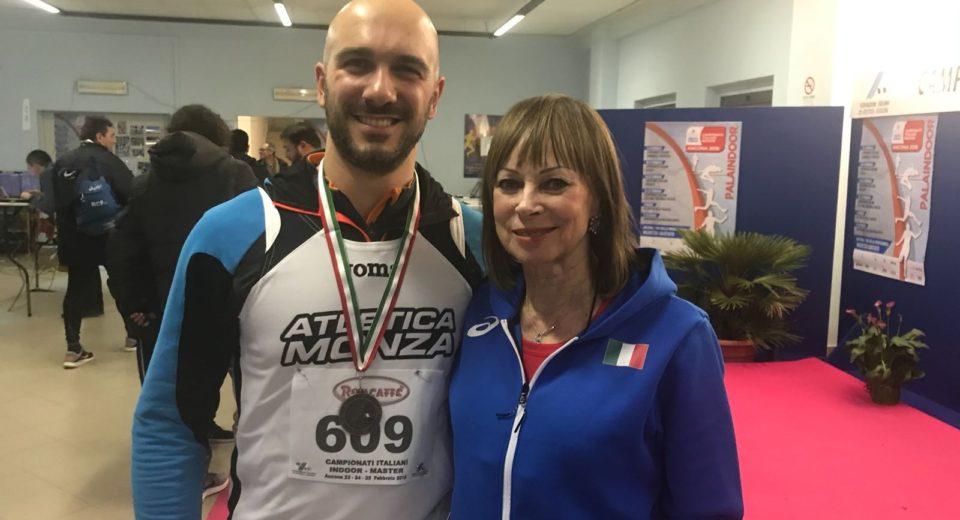 L'Atletica Monza protagonista ai campionati italiani Master di Ancona