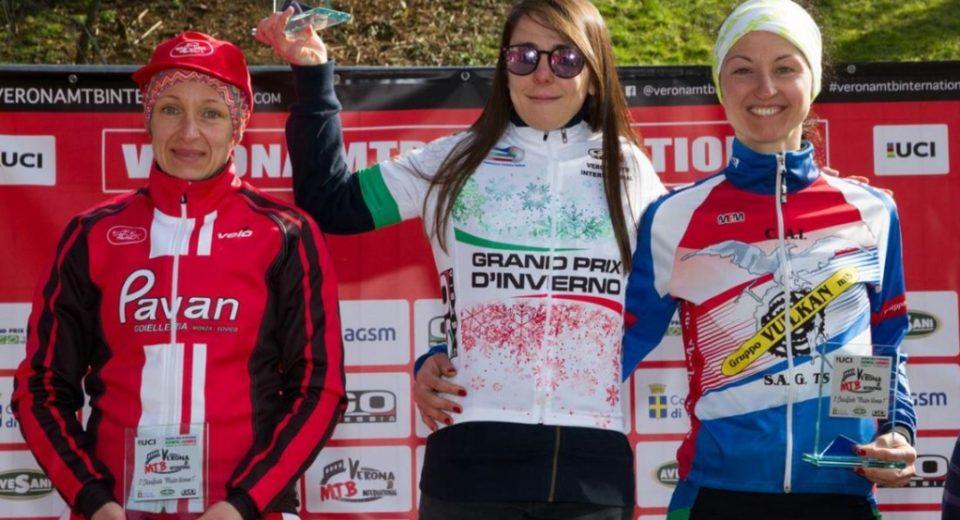 Monica Maltese del Pavan Free Bike trionfa al Gran Prix d'Inverno