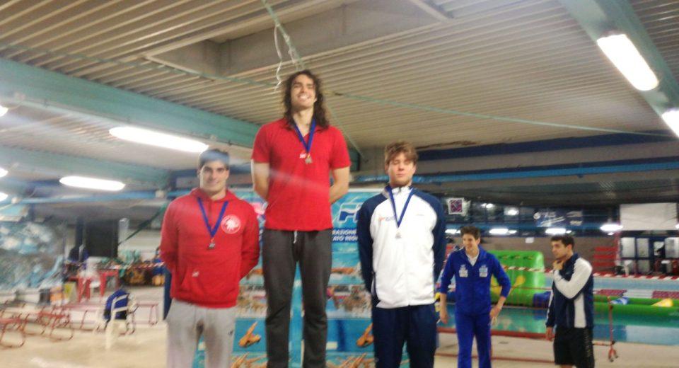 Due medaglie per il monzese Luca Mariucci ai Campionati regionali invernali di nuoto