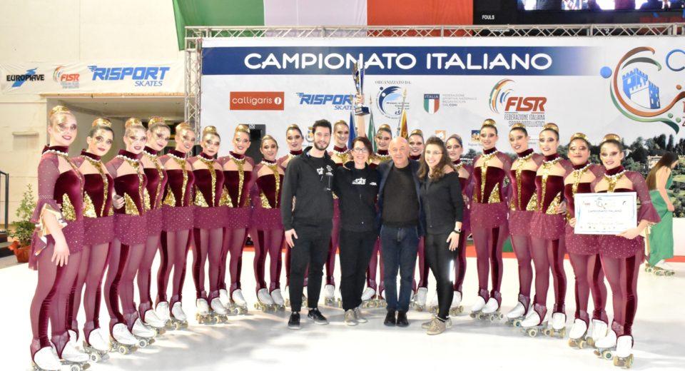Due medaglie d'argento per  l'Astro Skating al campionato italiano Fisr