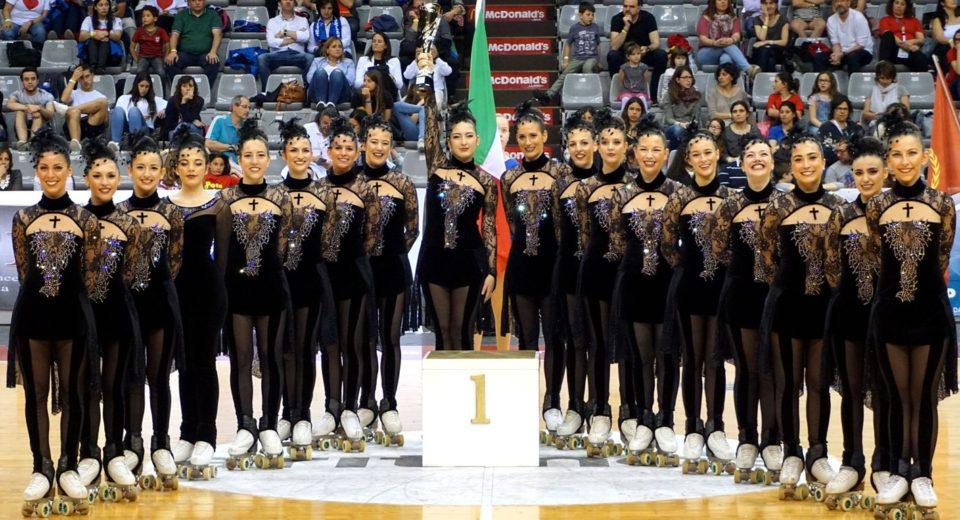 L'Astro Roller Skating trionfa ai campionati europei in Spagna