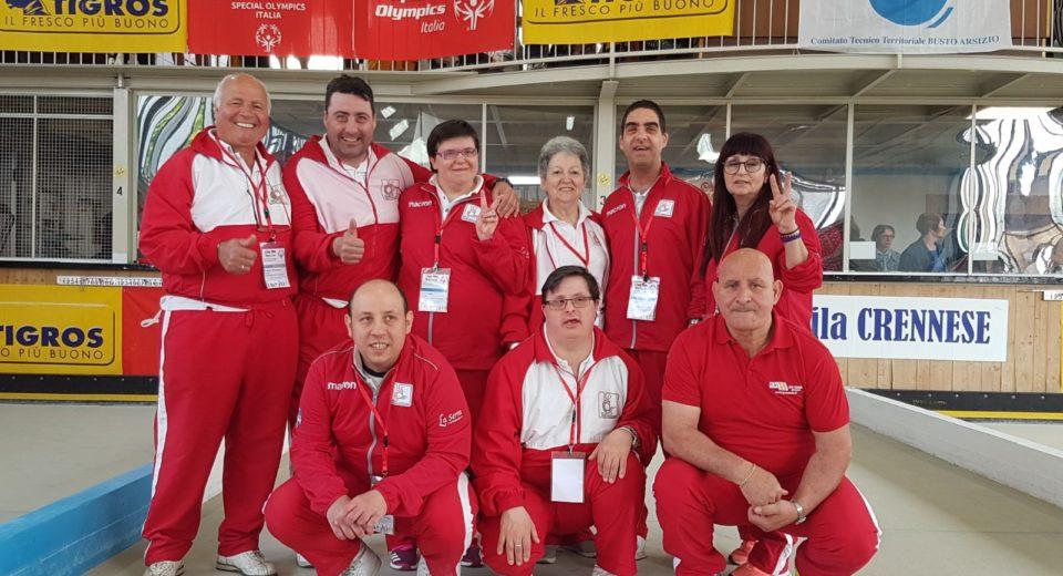 L'Asd Silvia Tremolada sul podio ai Campionati regionali Special Olympics di bocce
