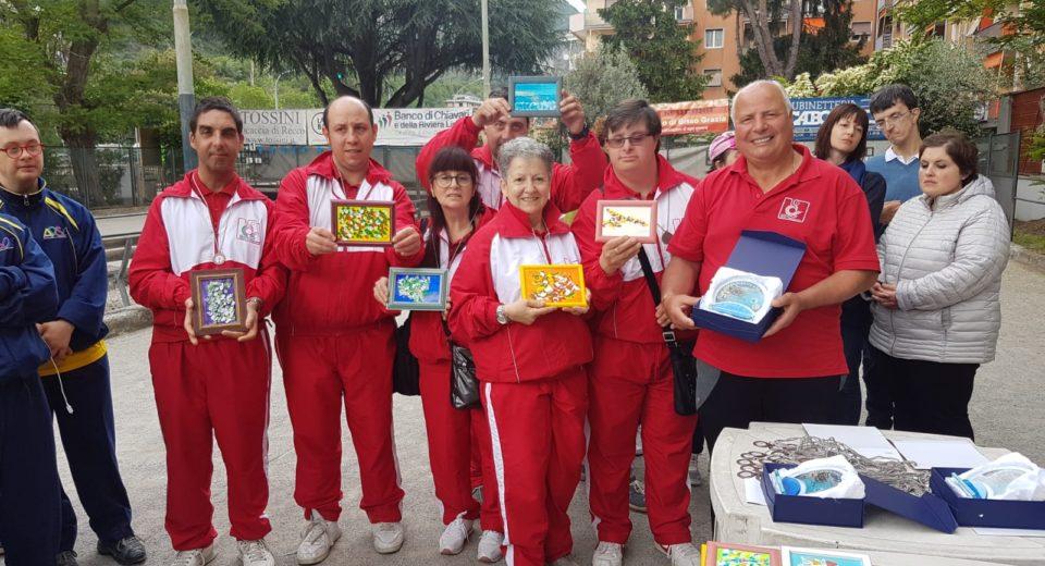 I bocciofili dell' Asd Silvia Tremolada in trasferta a Recco