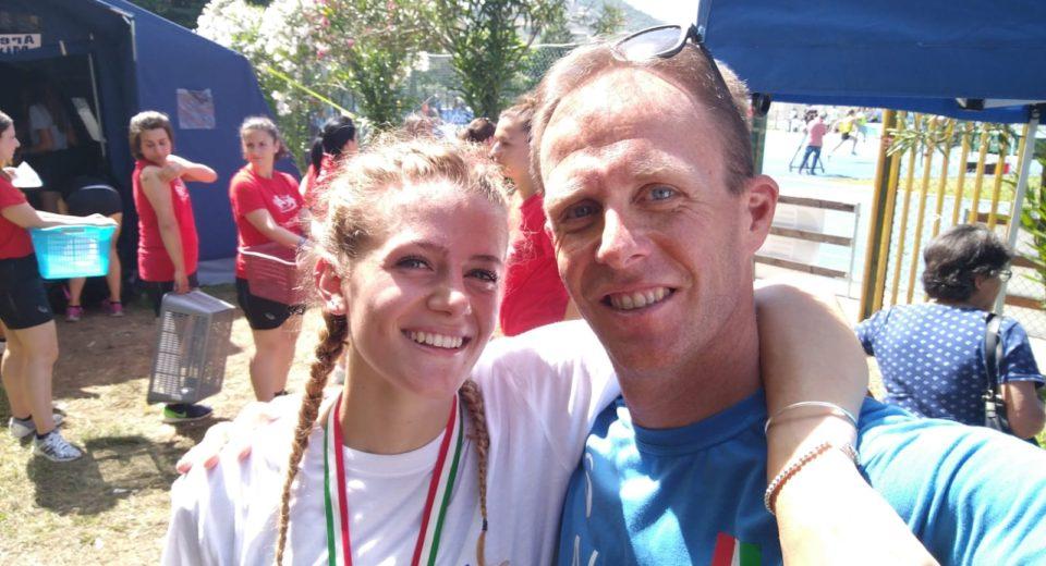 Linda Olivieri dell'Atletica Monza campionessa italiana Promesse nei 400 ostacoli