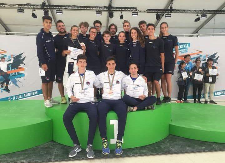 Tre medaglie per gli atleti dell'AstroSkating ai campionati mondiali di Freestyle in Olanda