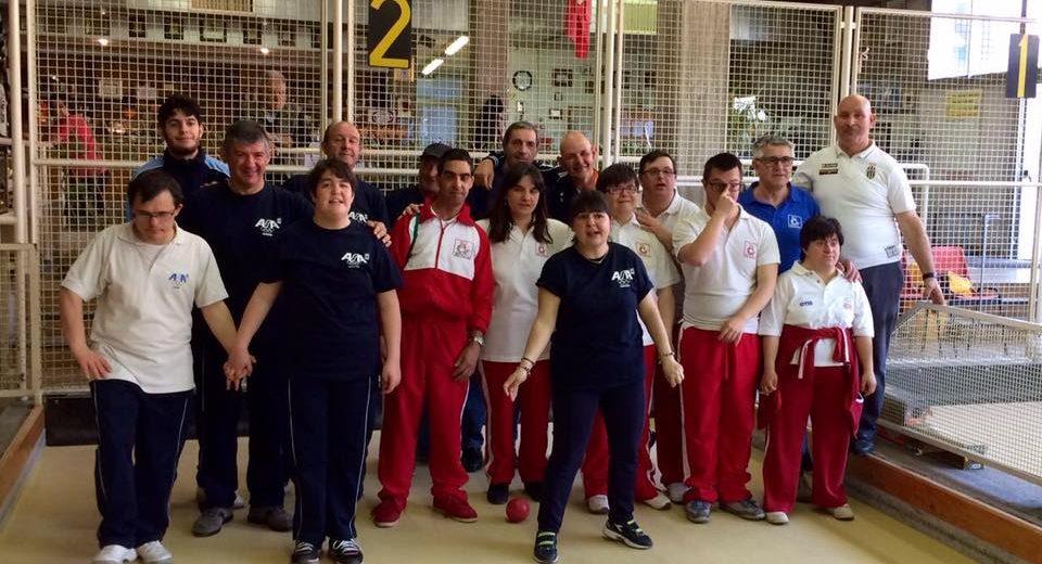 Meeting Special Olympics di bocce organizzato dall'Asd Silvia Tremolada