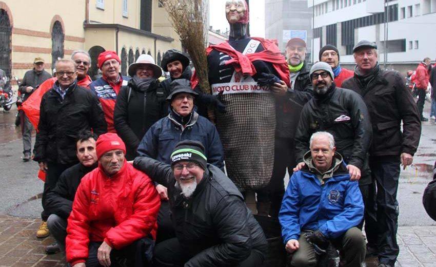 La Befana del Motociclista domenica 6 gennaio per le vie di Monza