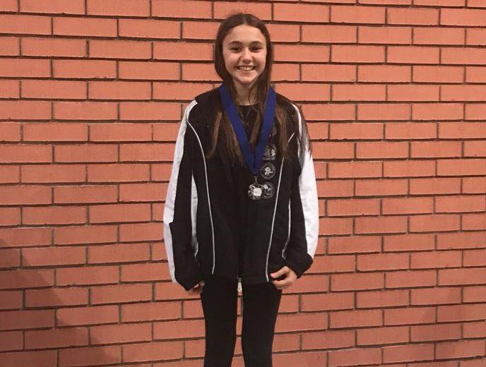 La giovane Matilde Dal Mas vice campionessa regionale di nuoto sincronizzato
