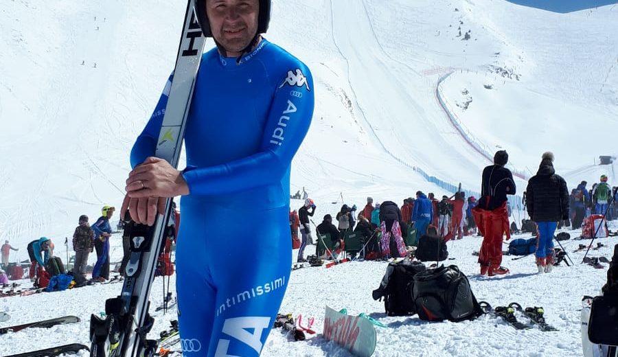 Roberto Borgonovo scende a più di 146 km/h nel kilometro lanciato