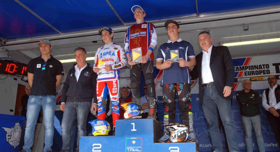 Grattarola trionfa nella prova monzese del campionato europeo di trial