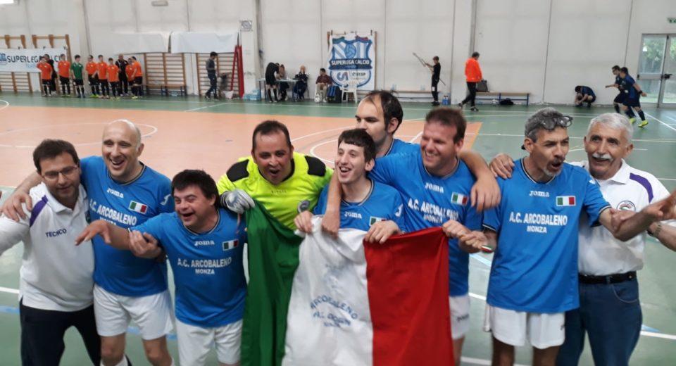 L'Asd Down Arcobaleno conquista il quarto titolo italiano di calcio a cinque
