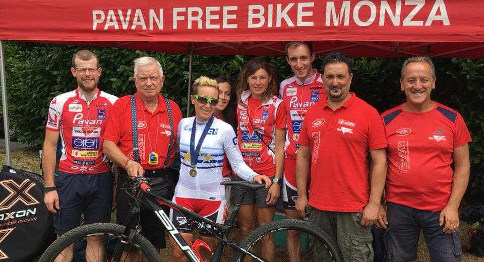 Trionfo rosa per il Pavan Free Bike: Karin Tosato prima in Europa