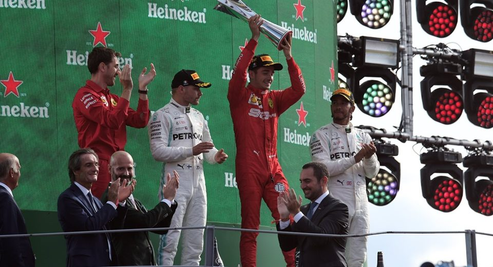 Una splendida giornata grazie alle vittorie della Ferrari e del Monza