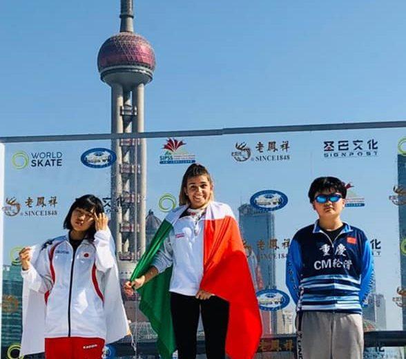 Astro Skating superstar a Shangai nel circuito WSSA