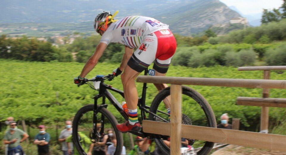 Brilla la stella di Alberto Riva del Pavan Free Bike a Pergine Valsugana
