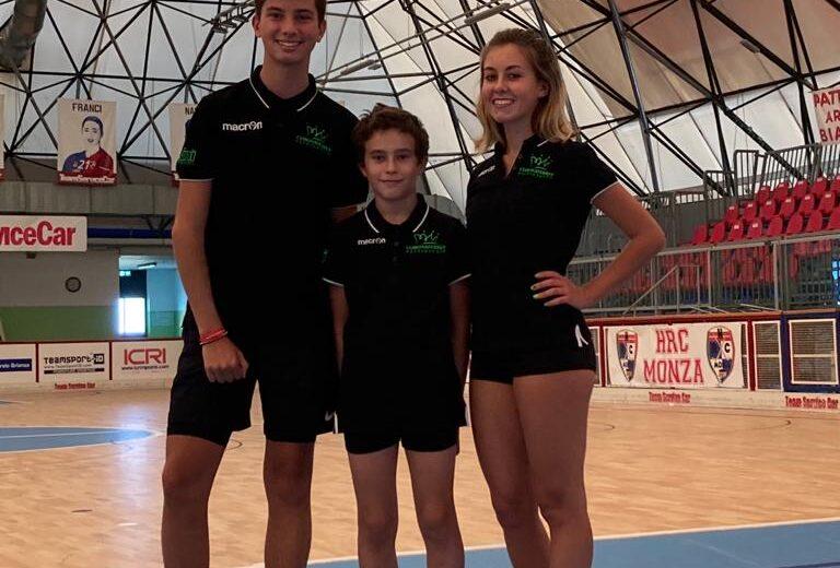 Tre atleti del Corona Ferrea Pattinaggio Biassono convocati dal commissario tecnico nazionale