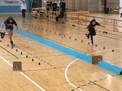 L'Astro Roller Skating non ha avuto rivali al Campionato regionale Freestyle FISR