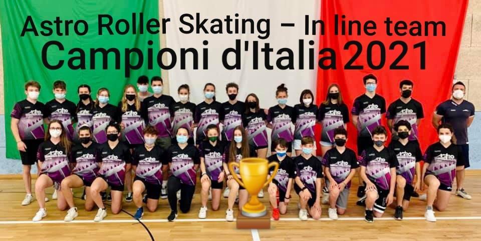 Sesto titolo italiano per Astro Roller Skating