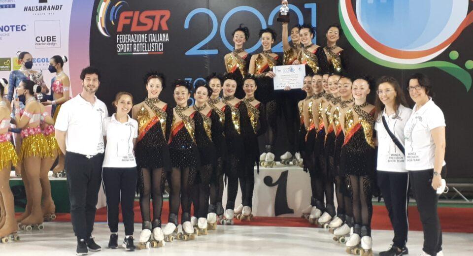 Due titoli italiani per Astro Roller Skating: trionfano le squadre del Monza Precision Team